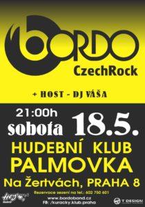 PALMOVKA (Bordo Tour 2019) @ Praha