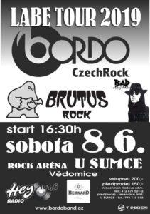 ROCK ARÉNA U SUMCE VĚDOMICE - (LABE TOUR 2019 ) @ Vědomice