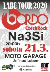 BORDO LABE TOUR 2020 V MOTO GARAGE - host Na3Si @ Ústí nad Labem (Klub MOTO GARAGE)