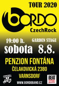 BORDO V PENSIONU FONTÁNA @ Garden stage v Varnsdorf