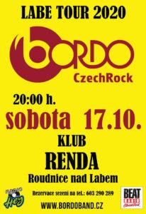BORDO LABE TOUR 2020 - Klub Renda @ Roudnice nad Labem