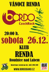 BORDO VÁNOCE - Klub Renda @ Roudnice nad Labem