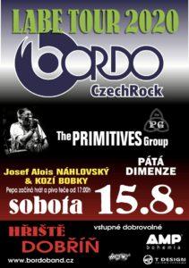 BORDO v Dobříně - The PRIMITIVES Group - PÁTÁ DIMENZE - Josef Alois NÁHLOVSKÝ & KOZÍ BOBKY @ Dobříň